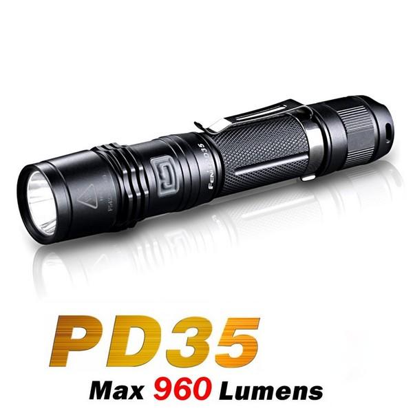 The New Fenix PD35 LED Flashlight